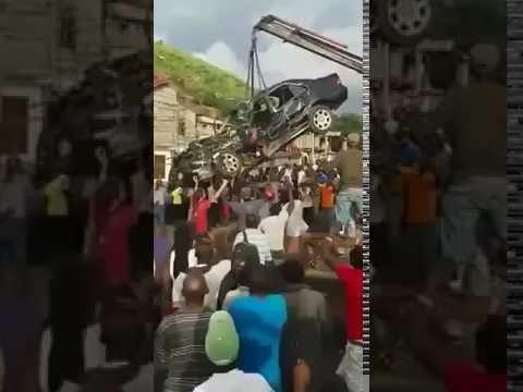Accident du jeune guinéen Alphadjo Bah en Sierra Leone.