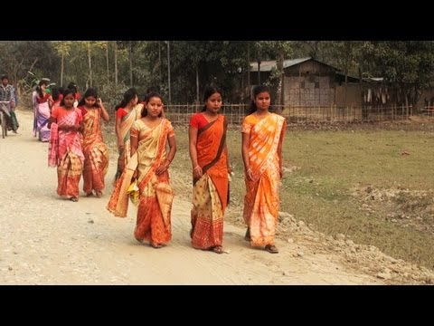A bodo village, Assam