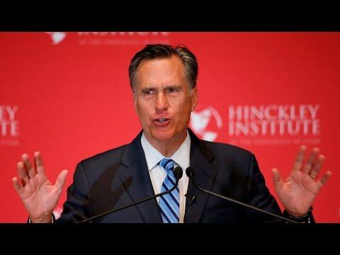 Watch Mitt Romney's Takedown of Donald Trump, in 3 Minutes