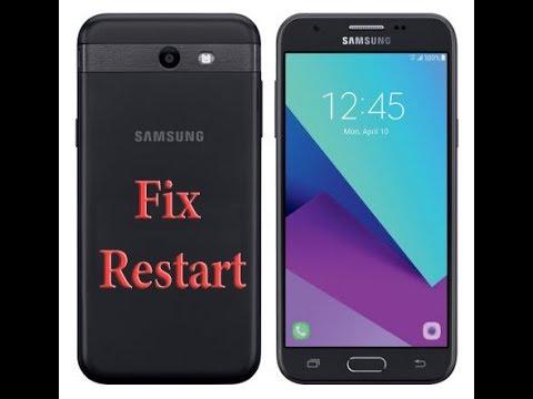 SM-J727P fix reboot after update or unlock | حل مشكلة إعاده التشغيل J727P