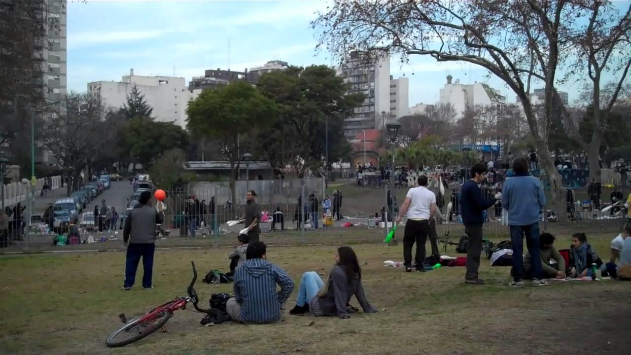 Im genes del parque centenario en buenos aires youtube for Semana del diseno buenos aires
