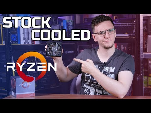 Ryzen 9 STOCK Cooler vs AIO