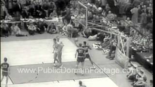 Kentucky Wildcats beat Seattle Chiefs for NCAA title 1958  www.PublicDomainFootage.com