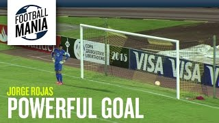 Jorge Rojas (Dep. Táchira) - Amazing Powerful Goal vs. Cerro Porteño