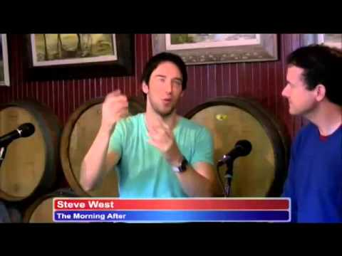 Steve west - lead actor, 'The Morning After' Rick Love Interviews