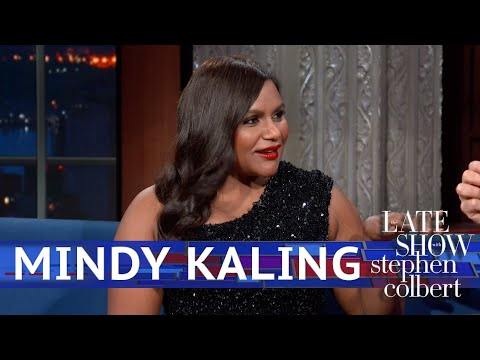 Mindy Kaling Met With Stephen's Staff For 'Late Night'