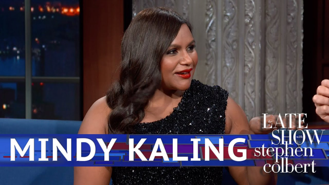 Mindy Kaling Met With Stephen S Staff For Late Night Youtube