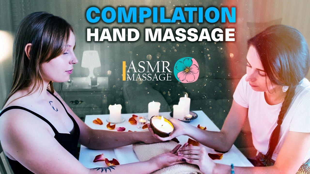 ASMR HAND MASSAGE | COMPILATION NO TALKING