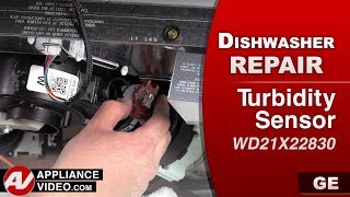 GE Dishwasher - Turbidity Sensor issue - Repair & Diagnostic