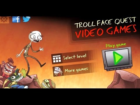 Troll Face Quest Video Games All POKEMON secrets IOS ANDROID Gameplay Walkthrough Прохождение