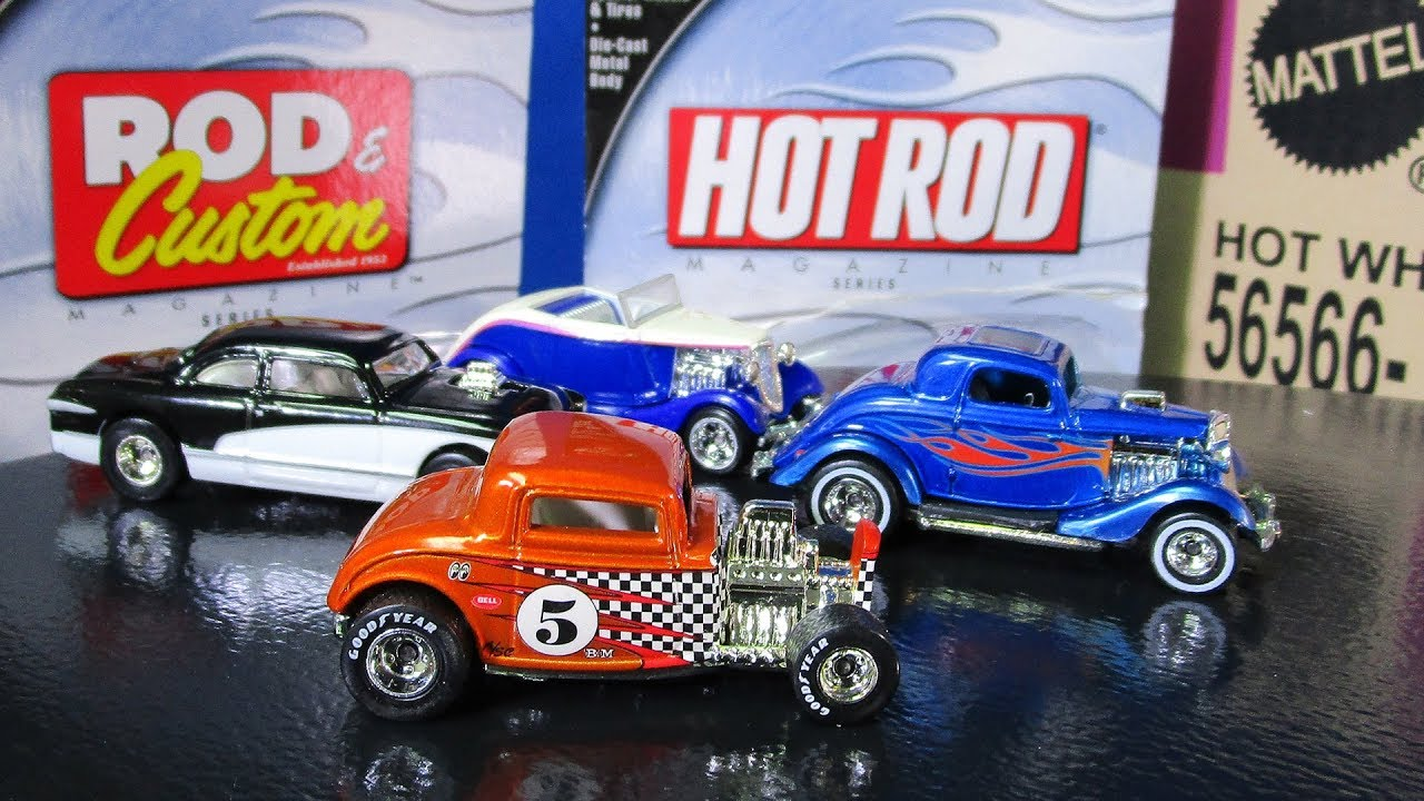 Hot Wheels 100/% Preferred Blue Custom Classic Trucks /'56 Ford  w//Real Riders