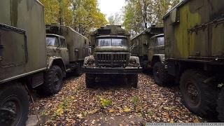 Брошенная военная техника СССР