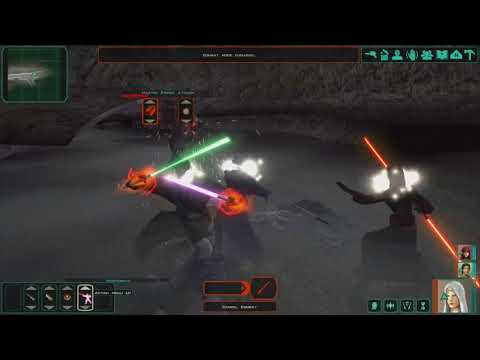 Star Wars: Knights of the Old Republic II - The Sith Lords - Gameplay video