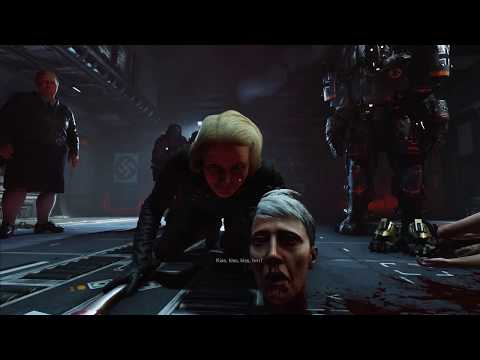 Wolfenstein II The New Colossus | Most insane part of the game | Best graphics |