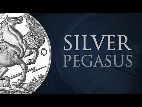 Silver Pegasus Coin | 1 Ounce Silver Round | Bullion Numismatic Coin | Gold & Silver Direct