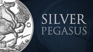 Silver Pegasus Coin | 1 Ounce Silver Round | Bullion Numismatic Coin | Gold & Silver Direct