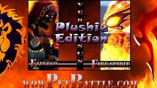 Plushie- An Awfully Big Adventure - Burning Pandaren Fire Spirit WOD 6.0 WOW