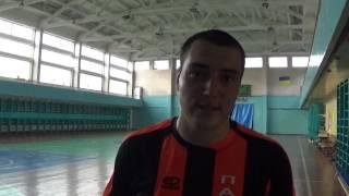 2016 09 18 Денис Дучко Нептун Пальмира 3 5 Кубок открытия сезона Футзал Одесса