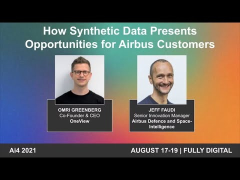 How Synthetic Data Presents Opportunities for Airbus Customers