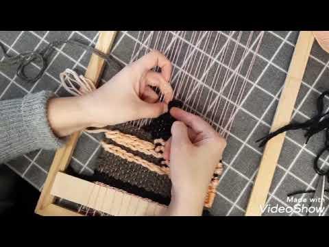 Видео уроки ткачество