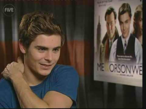 New UK interview - Zac Efron starm 'Me and Orson Welles'- LIVE from STUDIO FIVE