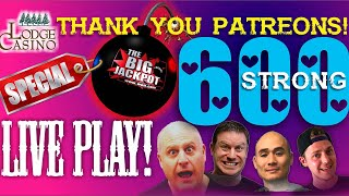 🔴 Breaking News 600 Patreon Celebration Strong $15000 Group Pull Live 🎰 thumbnail