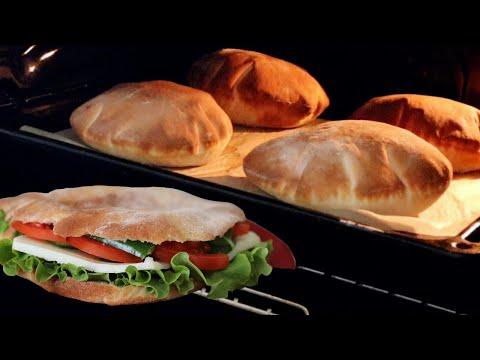 """Turkish Pita Bread """"Gobit / Göbüt"""""""