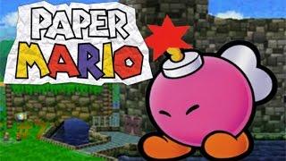 Paper Mario capítulo 7 El rescate de Bombette y sus amigos