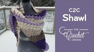 How To Crochet A Shawl: Corner to Corner Shawl