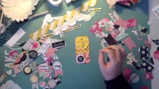 DIY scrapbooking embellishments