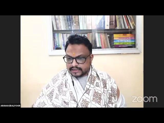 #18 വാല്മീകി രാമായണ സ്വാദ്ധ്യായം - നമോ ധർമ്മായ - Shri Arunan Iraliyoor