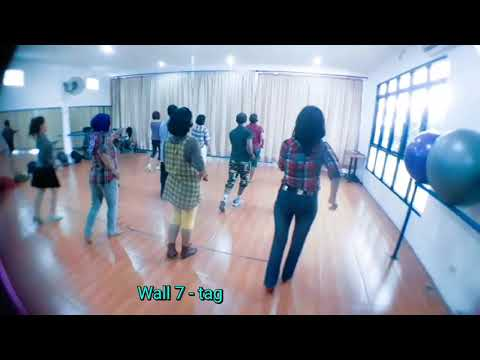 Karna Su Sayang - linedance by Caecillia M Fatruan (GDC-Merauke, Papua)