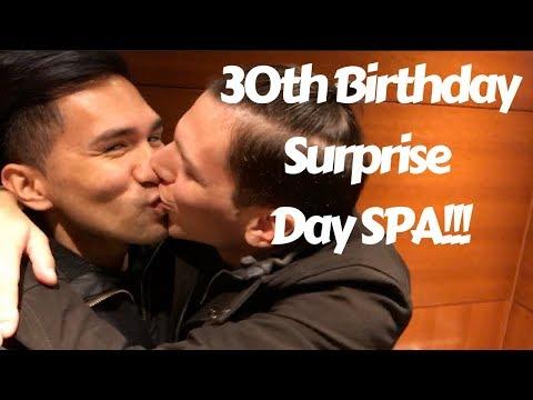 BOYFRIEND REACT 30TH SURPRISE BIRTHDAY DAY SPA | ELMWOOD SPA TORONTO | VLOG 31