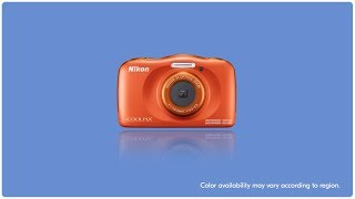 Nikon Coolpix W150 Waterproof Digital Camera Blue GARANSI RESMI