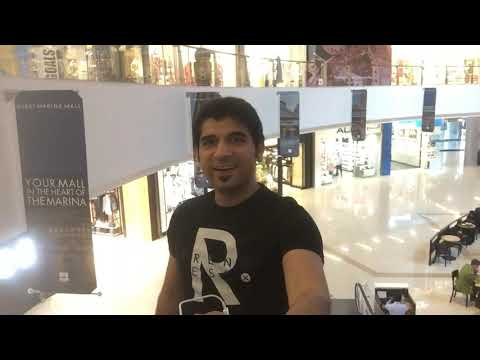 Dubai Marina Mall !