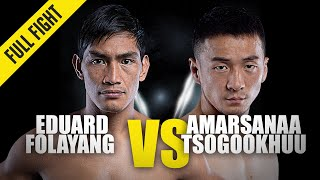 Eduard Folayang vs. Amarsanaa Tsogookhuu | ONE Full Fight | November 2019