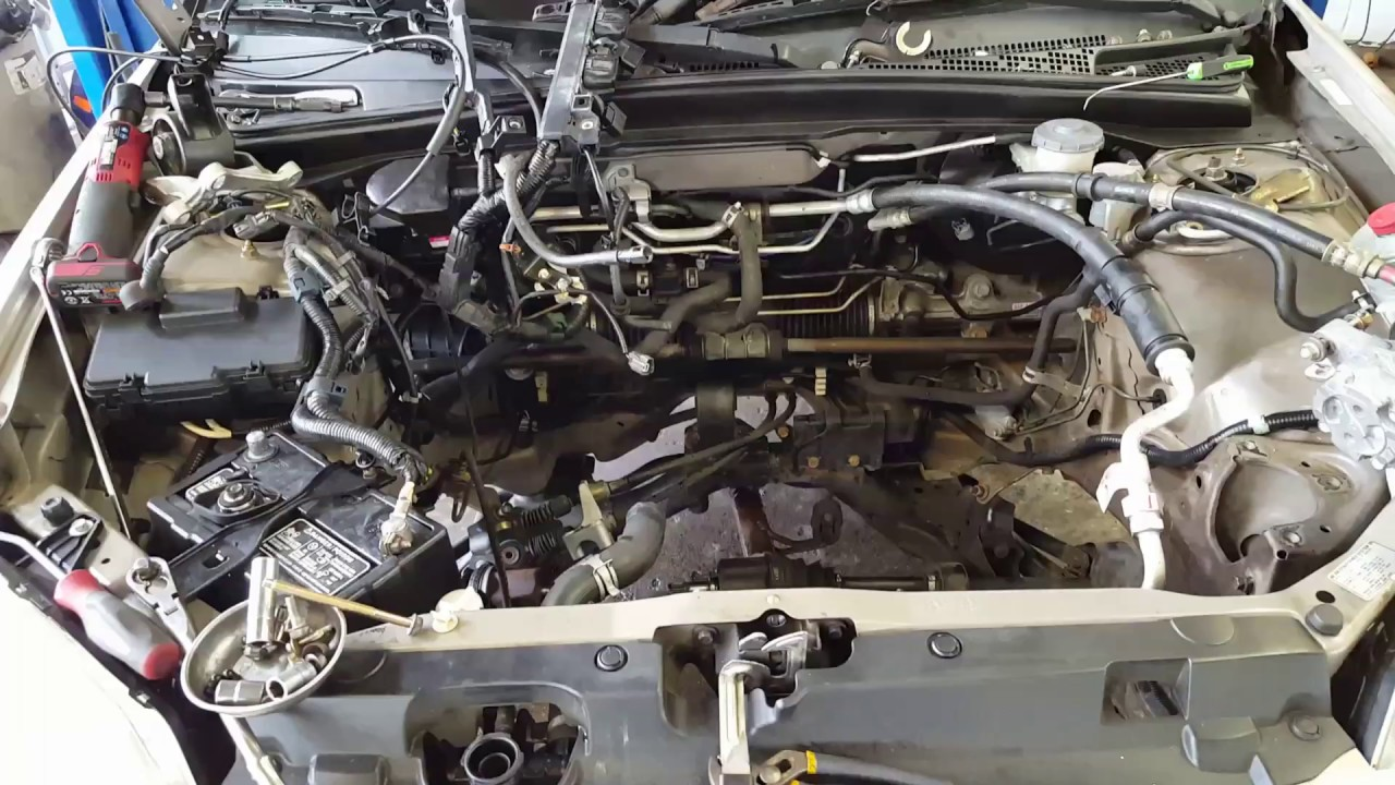2001 honda civic engine removal with best lifting points. Black Bedroom Furniture Sets. Home Design Ideas
