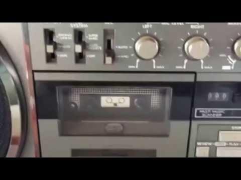 JVC RC-M90JW Ghetto Blaster Boombox Radio