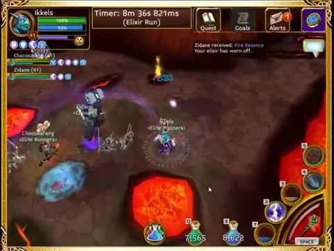 Arcane Legends - Farming The Elite Tindirin Maps! (Elite Lord Rendtail)