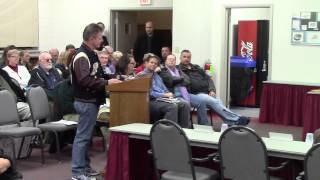 Shikellamy School Board Reorganization Meeting (Public Comments) - Sunbury, PA 12/4/2014 Part 1