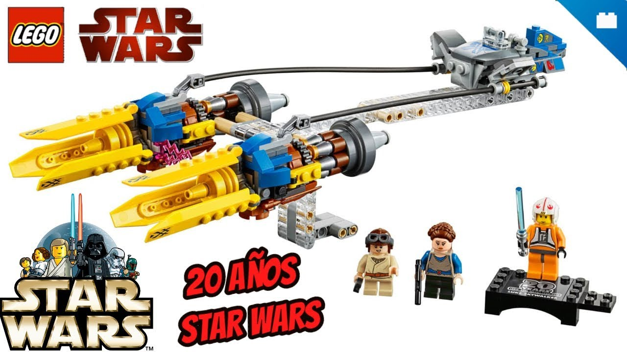 Lego Star Wars 75258 Anakin/'s Podracer 20TH ANNIVERSAIRE neuf pour 7 ans