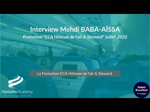 Interview Mehdi BABA AÏSSA - Formation CCA