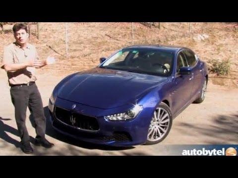 2014 Maserati Ghibli S Q4 Test Drive Video Review Youtube