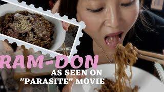 [Eng] Parasite movie : Ram-Don Recipe & Mukbang