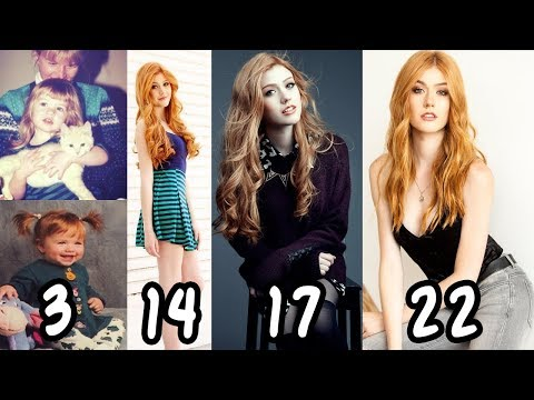 Katherine McNamara Transformation From 122 Years Old ★ From Baby To Teenager