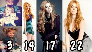 katherine mcnamara transformation from 1 22 years old from baby to teenager