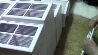 Сборка и упаковка вентиляционной решётки(, 2014-04-16T07:46:56.000Z)