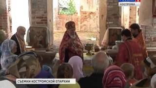 Освящение креста на  Никольском храме села Сунгурово(, 2014-07-23T10:39:27.000Z)