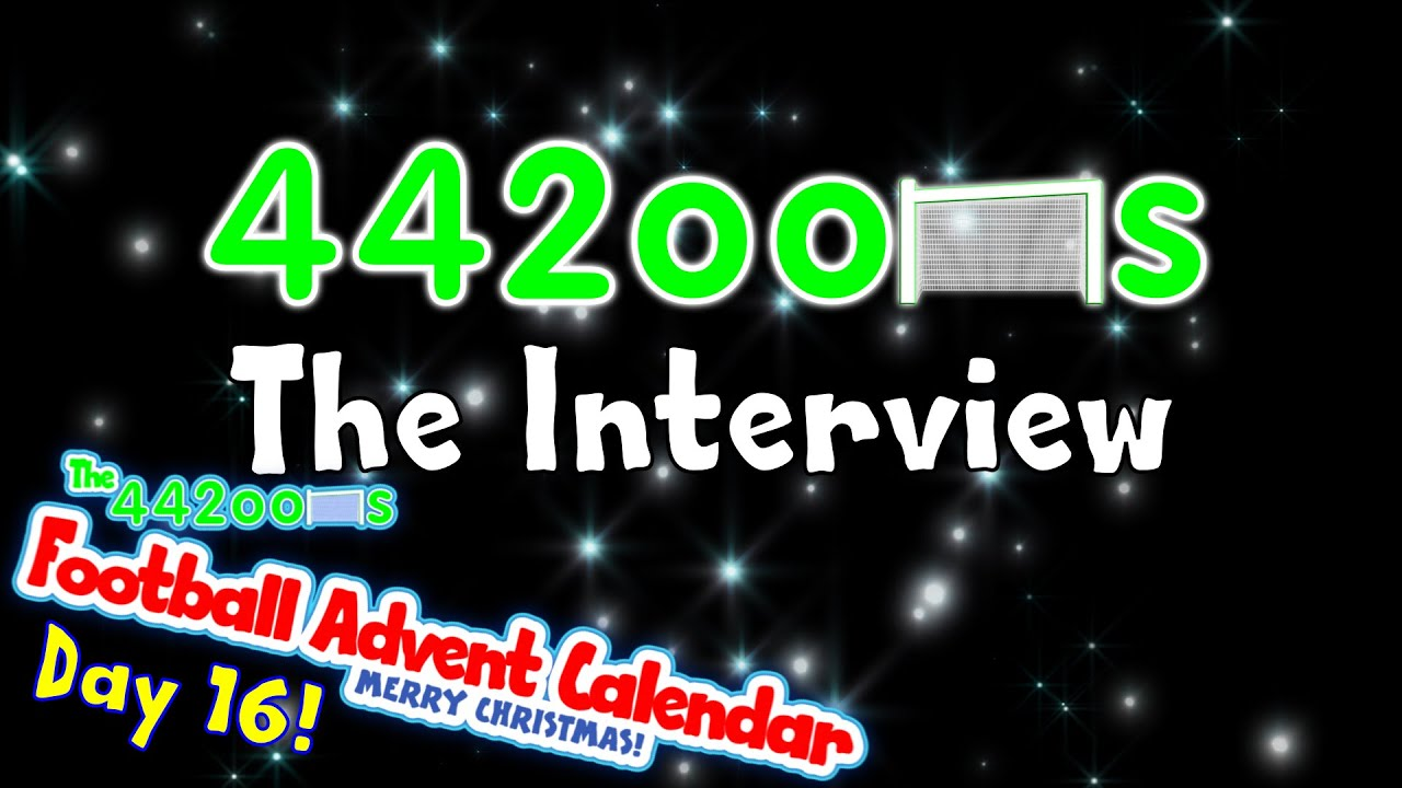 442oons The Interview Day 16 Football Advent Calendar