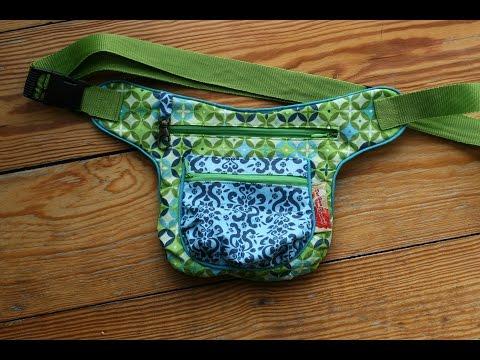 Hip-Bag von Schnabelina nähen mit kostenlosem Schnittmuster